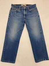Men's Levis Strauss 505 Regular Fit Blue Jeans 34x30 Euc