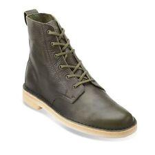 Clarks Originals Desert Mali Men's Leaf Leather Boots 26115385