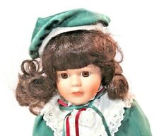 """12"""" Porcelain Doll Soft Expressions with Certificate of Authenticity"""