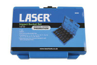 Laser Tools 6648 Impact Socket Set 1/2 Drive 18 Piece * Promotion Offer