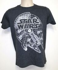 NEW NWT Star Wars Millennium Falcon Dark Gray T-Shirt - SMALL