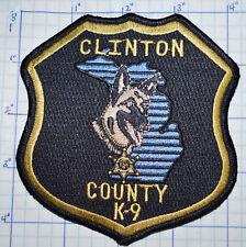 MICHIGAN, CLINTON COUNTY SHERIFF K-9 PATCH