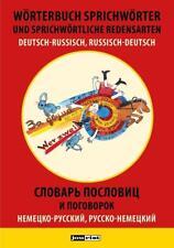 Wörterbuch Sprichwörter und sprichwörtliche Redensarten Deutsch-Russisch, Russisch-Deutsch von M. J. Zwilling (2017, Taschenbuch)