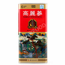 Korean 6 Years Red Ginseng First Grade 5~6 Roots 37.5g(1.3oz), Saponin, Panax