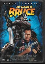 DVD ZONE 2--MY NAME IS BRUCE--BRUCE CAMPBELL