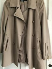 Warehouse Coat Used 12 Sized Fab Cond Pocketd Button Front £17!