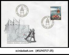 LATVIA - 2003 LIGHTHOUSES OF LATVIA - FDC