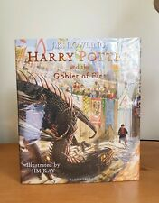 Signed Harry Potter And The Goblet Of Fire Illustrated Edition