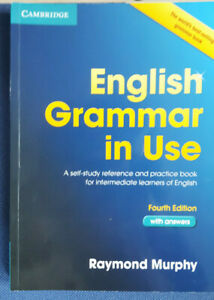 English Grammar in Use. Book with answers and interactive ebook. Raymond Murphy