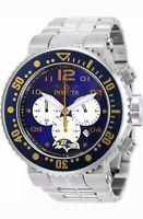 New! Invicta NFL Baltimore Ravens Chronograph Quartz Men's Watch 30257