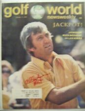 AL GEIBERGER signed Mr 59 1974 GOLF WORLD magazine AUTO Autographed USC TROJANS