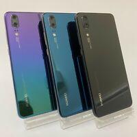HUAWEI P20 128GB - UNLOCKED - Black / Blue / Twilight - Smartphone Mobile Phone