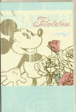 "DISNEY Mickey Mouse "" Félicitations "" carte"