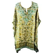 NEW Women's Top Ladies Hand Embroidered Chikan Casual Lady's Kaftan