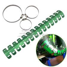 60cm Motor Aluminum Exhaust Muffler Pipe Leg Protector Heat Shield Cover Green