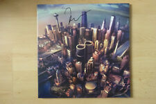 """Foo Fighters Autogramme signed LP-Cover """"Songs From The Woo"""" Vinyl"""