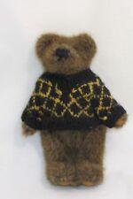 "Boyds Bear Brown Bear Plush Sweater 8"" Jointed Stuffed Animal"