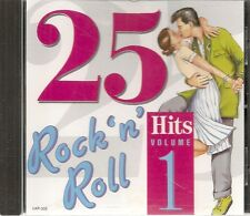 CD COMPIL 25 TITRES--ROCK 'N' ROLL HITS VOL 1--DOMINO/HALEY/RICHARD/PRICE/CHAMPS