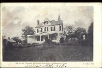 Southington CT Thomas Parochial Residence c1910 Postcard