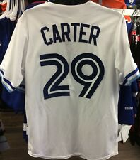 Toronto Blue Jays 1993 Jersey Joe Carter Baseball World Series Patch Jersey L