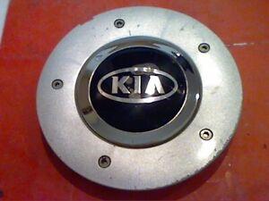 """2003 - 2006 Kia Amanti Center Cap Hub Hubcap ROUGH 16"""" N1 silver 6.25"""""""