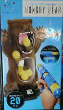 Blakjax Hungry Bear Target Toy Shooting Game Shoots up to 20 Ft Pump Action Grip