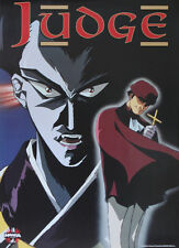Superb vintage Judge Large Manga Anime Video in-store Promo Poster