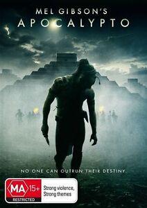 MEL GIBSONS : Apocalypto DVD (PAL, 2007) FREE POST