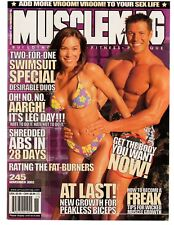 MUSCLEMAG bodybuilding SWIMSUIT/STRATUS Poster BOEVING & DANIELLE 11-02 #245
