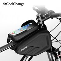6.0 inch Mountain Bike Road Bicycle Mobile Phone Bag Front Frame Tube Pouch Bag