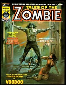 TALES OF THE ZOMBIE #2 FINE  1974 MARVEL