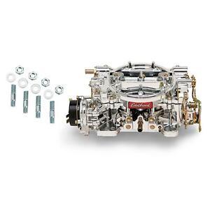 Edelbrock 140649 Performer 600 CFM Electric Carburetor/Stud Kit
