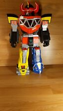 """Fisher Price Mighty Morphin Power Rangers Megazord Robot Toy Big 27"""" Lights"""