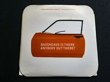Bassheads -Is There Anybody Out There? 4 Track Remix Cd single  Deconstruction