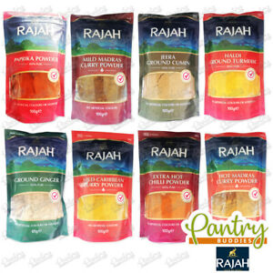Rajah Ground Spices - Indian Curry Spice Flavour Powder - 85g / 100g
