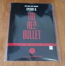 BTS 2014 Live Trilogy Episode 2. The Red Bullet TRB Program Book Very Rare