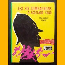 Bibliothèque Verte LES SIX COMPAGNONS À SCOTLAND YARD P.-J. Bonzon 1986