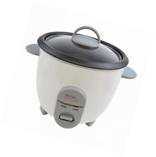 Lloytron Kitchen Perfected Automatic Non Stick 10 Cups Rice Cooker - White
