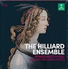 The Hilliard Ensemble Renaissance Music Box CD NEW England Italy Spain Mexico