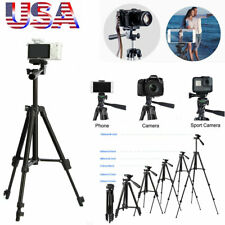 Aluminum Alloy Camera Tripod Stand Holder for Canon Nikon Cell Phone iPhone DSLR