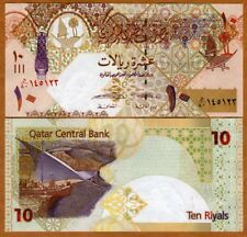 Qatar, 10 Riyals, ND (2017), P-30b, UNC > New Signature