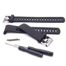Fitness Smartwatch Pulsera negro TPE para Suunto D4, D4i