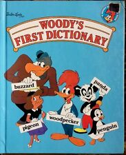 Walter Lantz WOODY'S FIRST DICTIONARY ~ RARE Vintage Children's Hardcover Book
