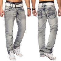 Jeans Denim Vintage Destroid Club de vêtements pour hommes Gris Finder Utilisé