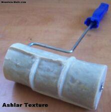 """New 6"""" Ashler Ashlar Concrete cement Landscape Curbing texture Imprint Roller"""