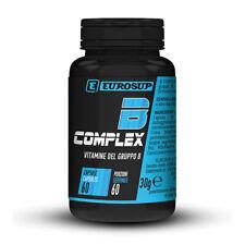 Eurosup B Complex 60 cps Vitamine Gruppo B Biotina Riboflavina Acido pantotenico