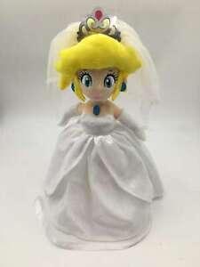 Super Mario Odyssey Princess Peach Wedding Style Plush Doll - 12 In. - Best Gift