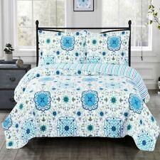 Refreshing Arielle Wrinkle-Free Over Sized Quilt Set