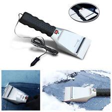 12V Heated Car Winter Windshield Electric Scraper Heating Snow Ice Brush Shovel