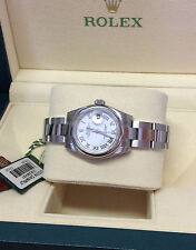 Rolex Women's Round Wristwatches with 12-Hour Dial